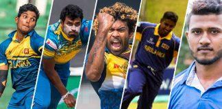 Sri lankan first nine wicket