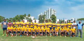 St Peter's College Rugby Team 2017
