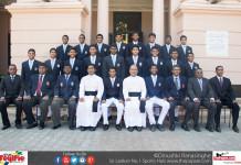 St. Joseph's College Schools Cricket Team 2017