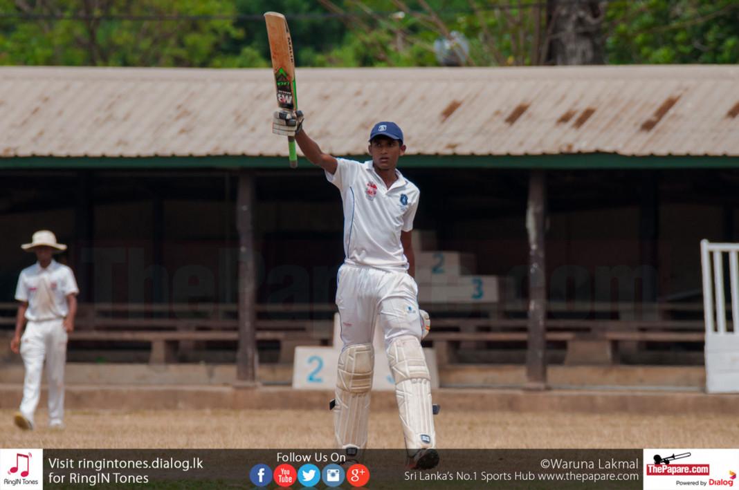 Malshan hit the first 'Josephian' century in 2015/16 season