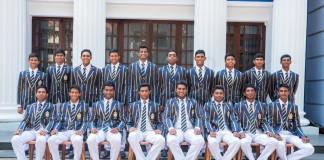 St. Peter's College Cricket Team 2017