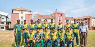 St. Sebastian's College Cricket team 2017