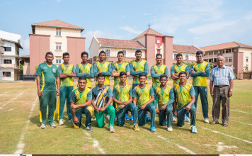 St. Sebastian's College Cricket team 2017