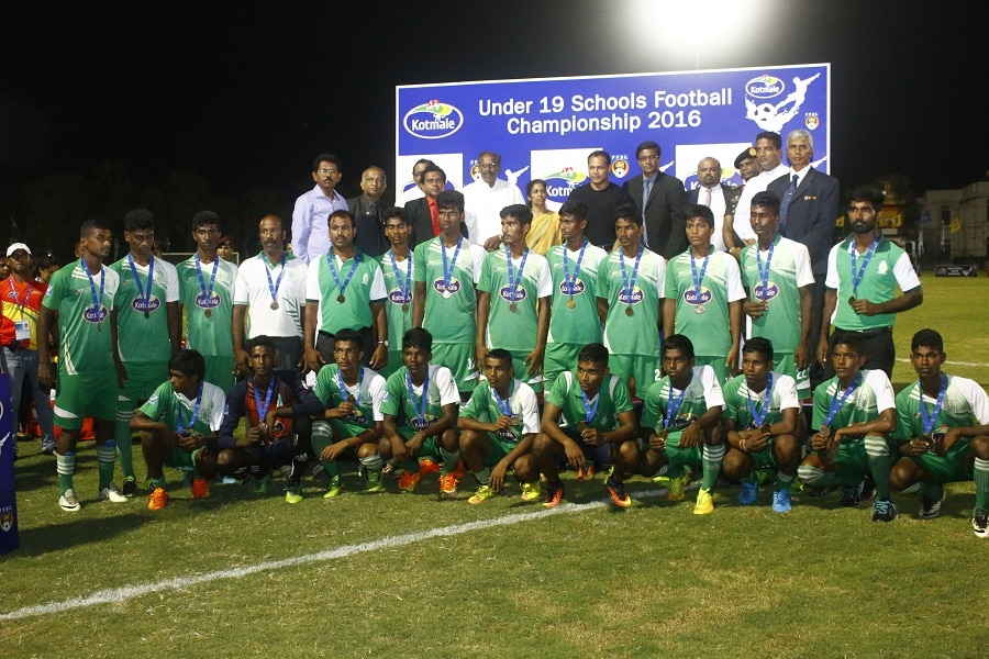 St.Henry's College (3rd Place) - 2016 Kotmale U19 Schools' Football Championship