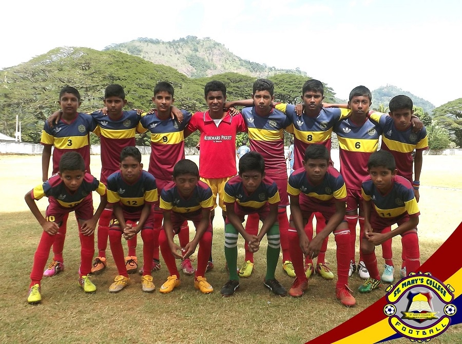 St.Mary's College - Gampola U15 Champions 2016