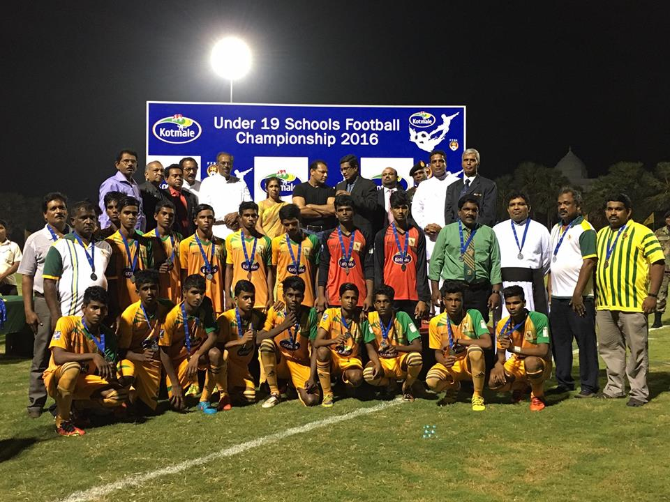 St.Patrick's College (Runners-up) - 2016 Kotmale U19 Schools' Football Championship