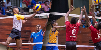 Munchee National Volleyball Championship 2016 Super League day 4