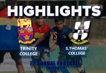 Highlights - S.Thomas' v Trinity - 7th Annual Football Encounter
