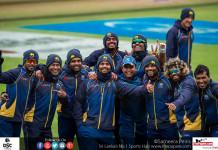 Sri Lanka team 1st practices at Cardiff
