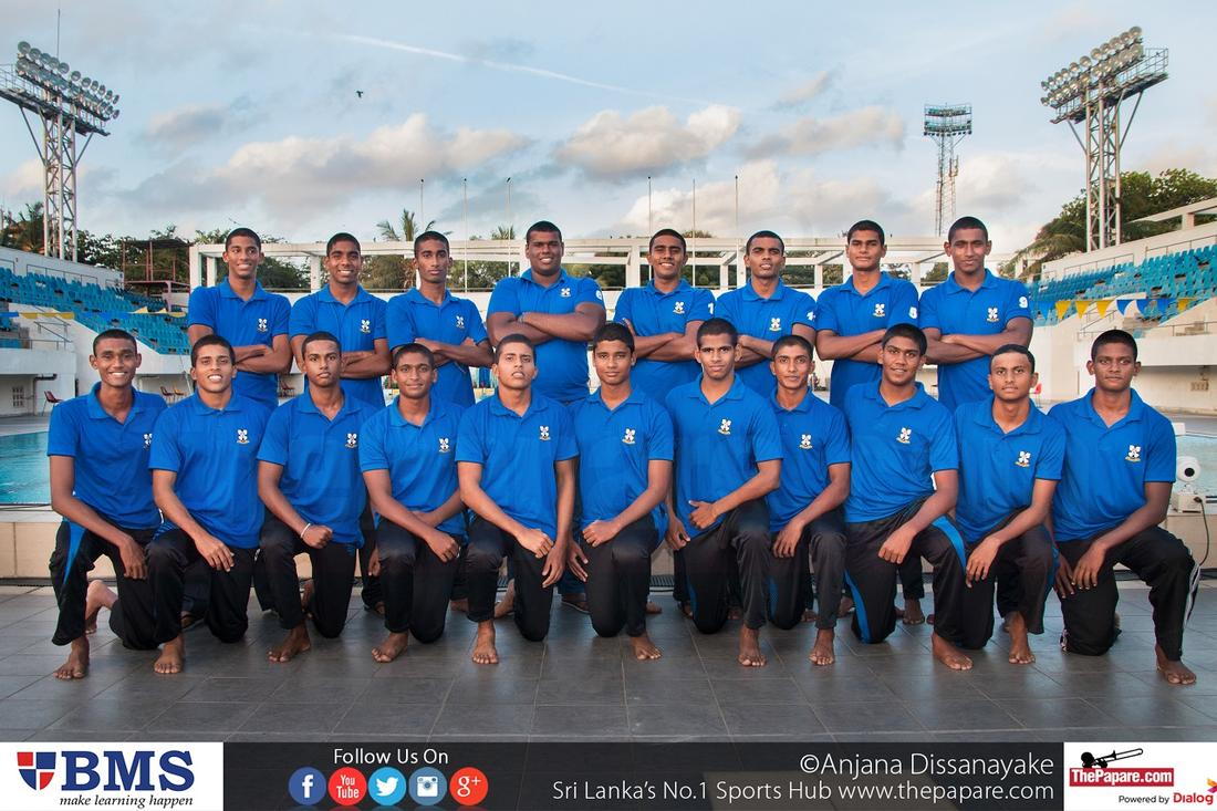 S.Thomas' College Waterpolo Team 2016