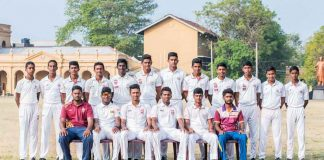 Prince of Wales' College Cricket Team