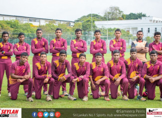 President's College Cricket Team 2016