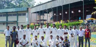 NCC Cricket Team 2016/17
