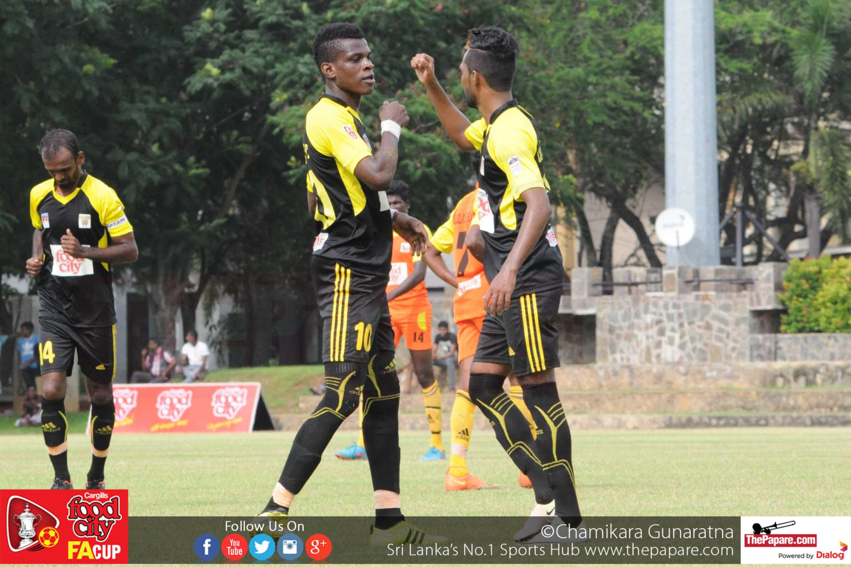 Colombo FC vs Hillary SC