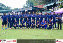 Galle Cricket Club Team