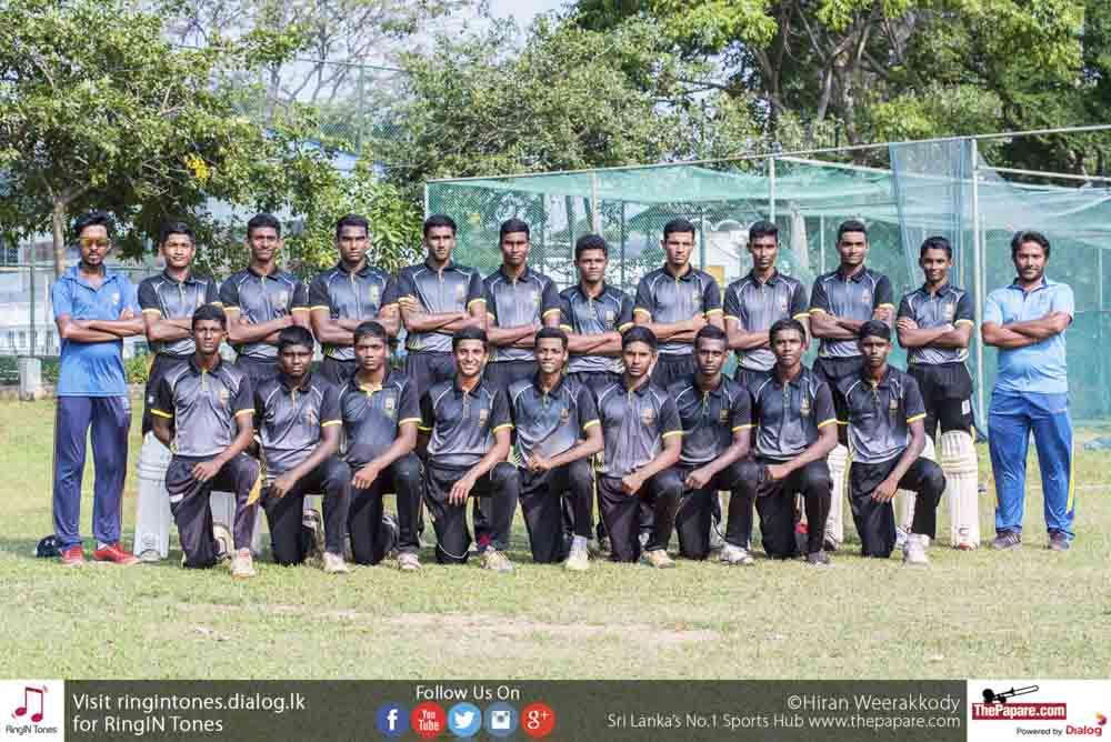 Photos: Mahanama College Cricket Team 2018 Preview