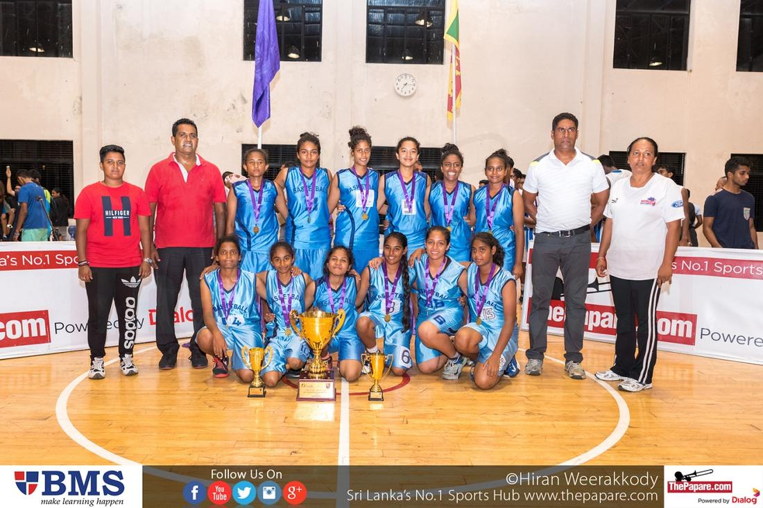 Lyceum Wattala takes Inter-International Basketball Girls' title