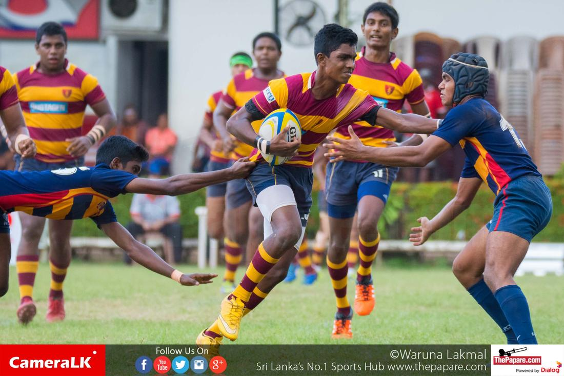 Ananda College vs Piliyandala Central College - Schools Rugby 2016
