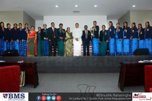 Sri Lankan Netball team