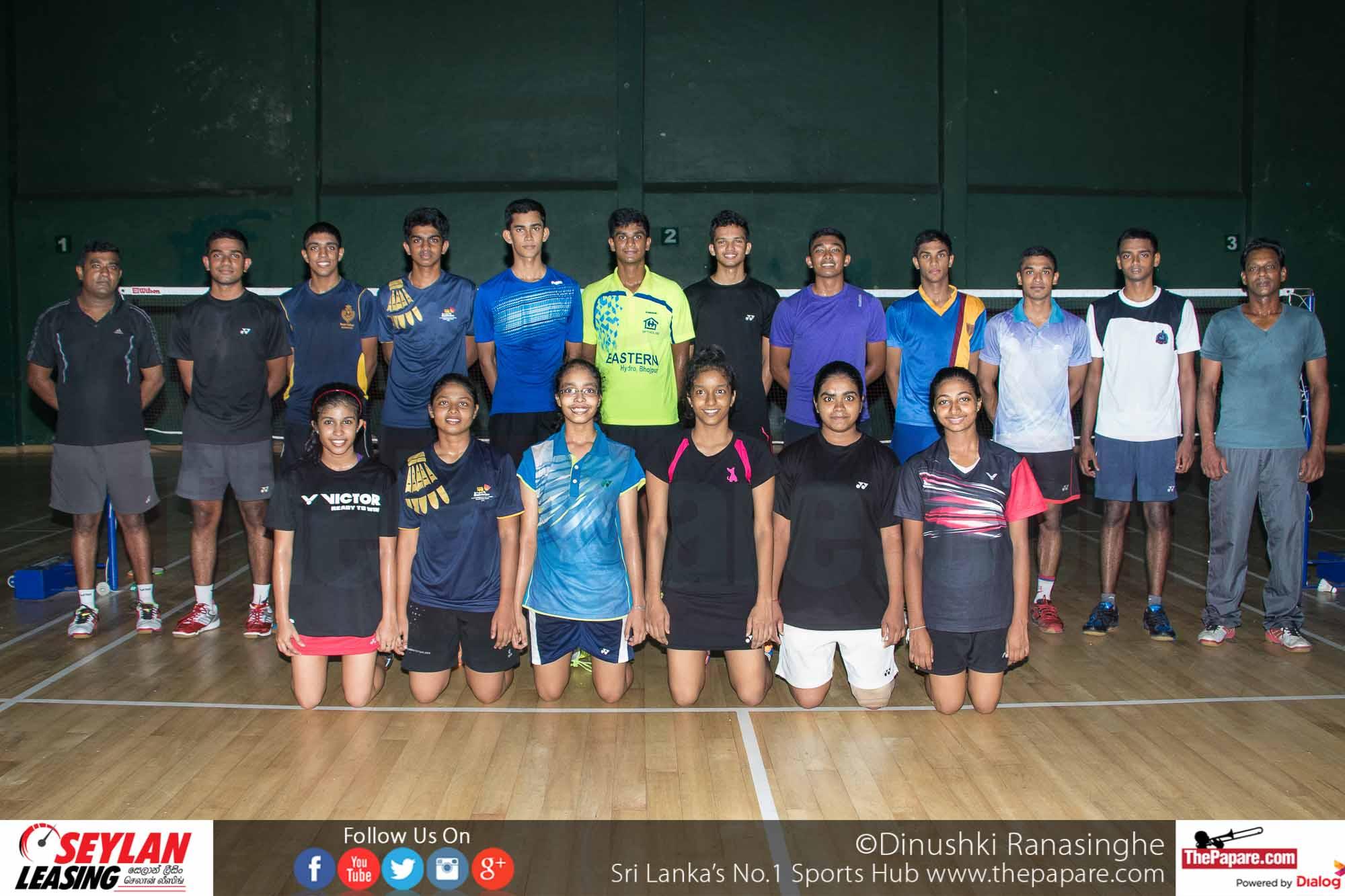 Sri Lanka squad for World Juniors