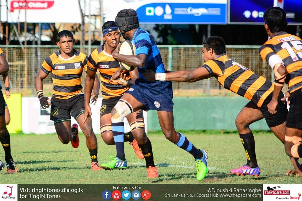 Wesley College vs D.S.Senanayake College - Schools Rugby 2016