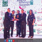 Rugby referees honored
