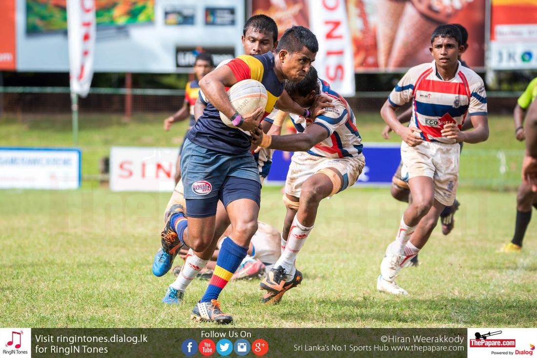 Thurstan College vs Lalith Athulathmudali College - Schools Rugby 2016