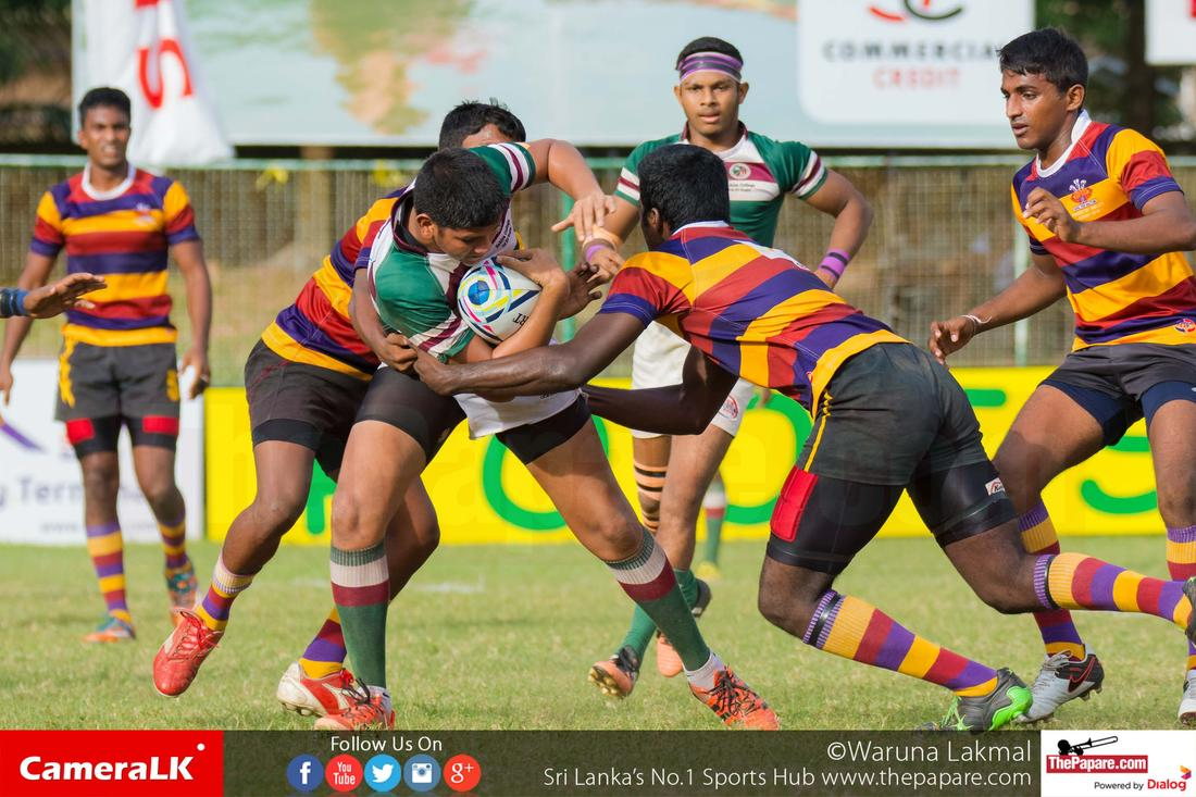 Zahira College vs Prince of Wales' College - Schools Rugby 2016