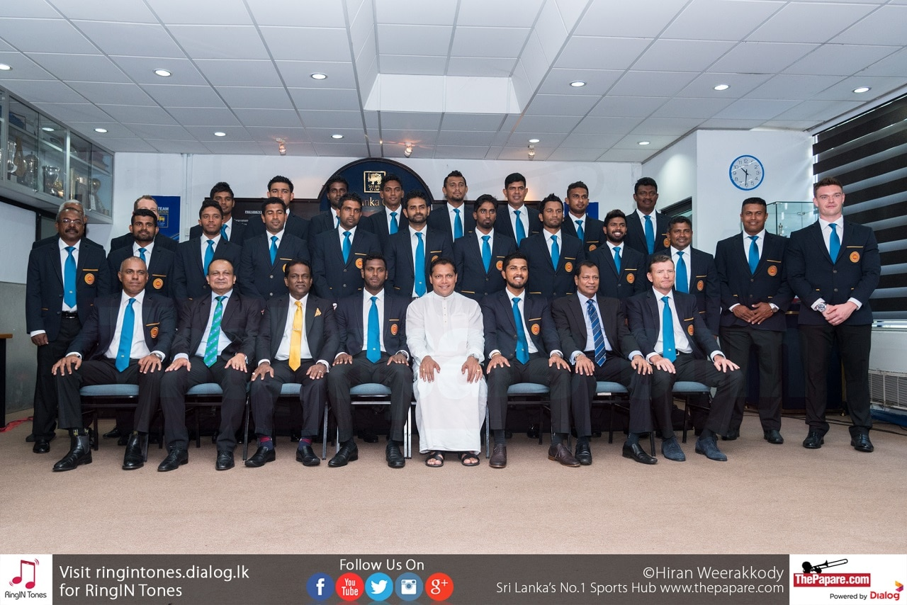 Sri Lanka team departure to England