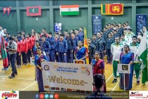 SOUTH ASIAN JUNIOR & CADET TABLE TENNIS CHAMPIONSHIPS 2017
