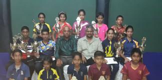 Junior Table Tennis