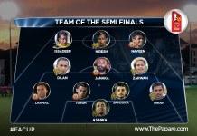 Team of the Semi Finals