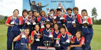 Thailand Women's Cricket