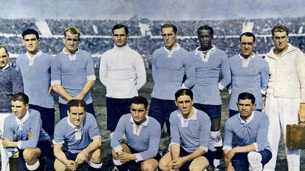 The Inaugural Champions Uruguay In  Image Courtesy Popper Foto The Fifa World Cup