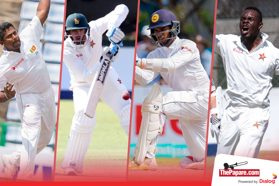 Sri Lanka start as favourites in Zimbabwe's 100th Test