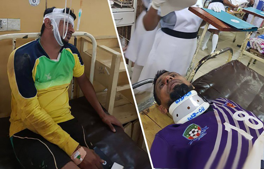 Thihariya Youth players assaulted in Badulla