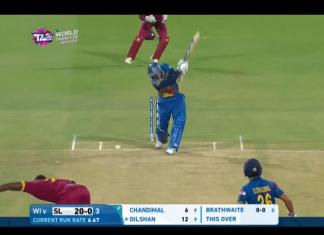 Tillakaratne Dilshan Wicket – SL v WI