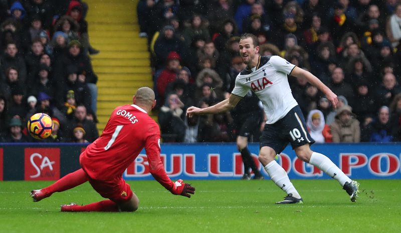 Kane and Alli strike twice as Tottenham crush Watford