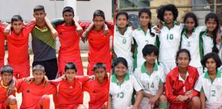 Maliyadeva Girls and Boys - Kurunegala U15 champions 2016