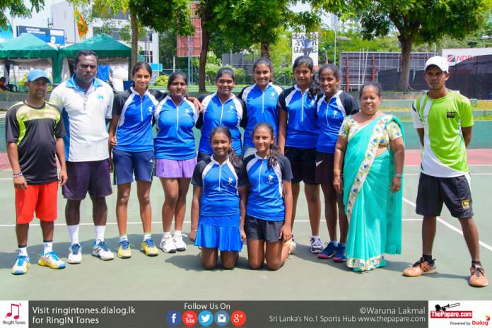 U17 Schools Tennis Champions 2017