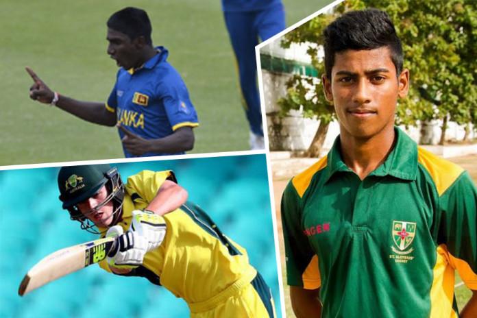 Sri Lanka v Australia U19 cricket 4th ODI
