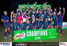 U8 Rugby Champions 2016