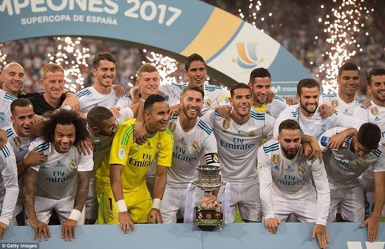 UEFA Spanish Super up - Second Leg
