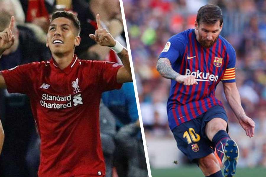 UEFA - Barcelona and Liverpool
