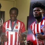 Thomas Partey's Atletico Madrid story in Sinhala