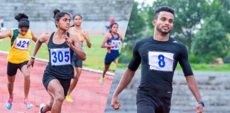 Vinod and Rumeshika achieved their best at trials report