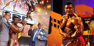 Mr.Asia 2017 winner Lucian Pusparaj
