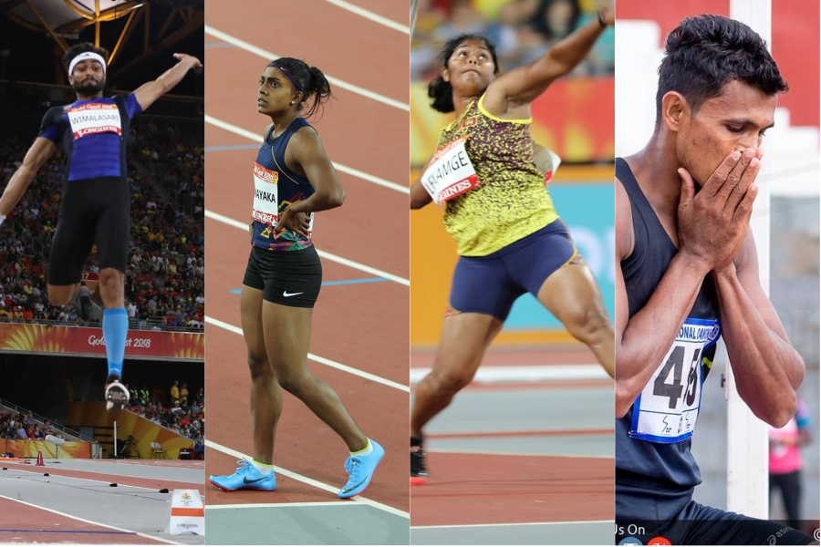 4 track 7 field athletes bow out