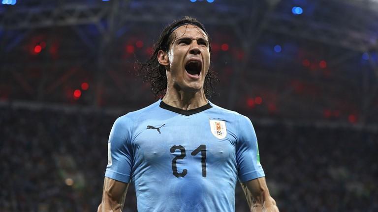 8fda45ffa Cavani outshines Ronaldo in Uruguay win