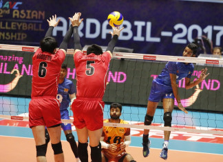 Japan v Sri Lanka - 2nd Asian Men's U23 Volleyball Championship